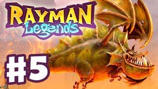 Rayman Legends - Gameplay Walkthrough Part 5 - Castle Rock (PS3, Wii U, Xbox 360, PC)