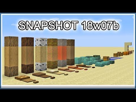Minecraft Snapshot 18w07b (Swedish)