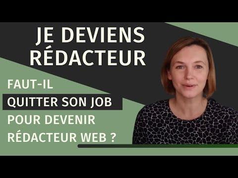 Quitter son emploi pour devenir rédacteur web : une bonne idée ?