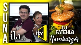 FATEH İLE HAMBURGER   SUNA İLE   İCTİMAİ TV
