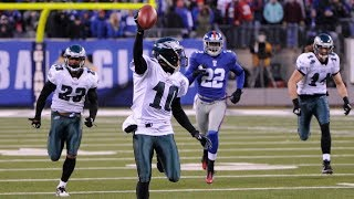 Eagles vs Giants 2010 Highlights - Miracle at the New Meadowlands