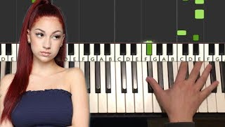 BHAD BHABIE - These Heaux (Piano Tutorial Lesson)