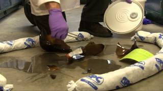 Chemical Spill Cleanup - Absorbent Pads