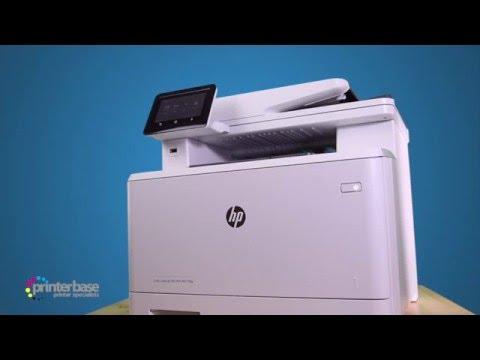 HP LaserJet Pro M477FDW Colour Multifunction Laser Printer Review   printerbase.co.uk