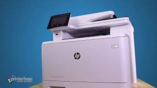 HP LaserJet Pro M477FDW Colour Multifunction Laser Printer Review | printerbase.co.uk