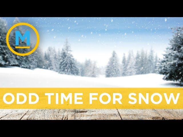 Why does it snow when temperatures are above zero? | Ask Our Meteorologist