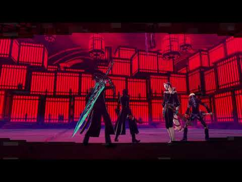 Persona 5 Strikers The Reaper 1st Fight |
