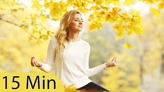 15 Minute Meditation Music, Relaxing Music, Calming Music, Stress Relief Music, Relax, ☯083