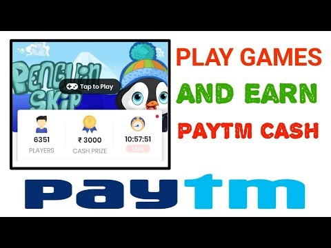 Play & Earn : Earn upto 3000 free paytm cash by playing mobile games - Play Android game no download - 동영상