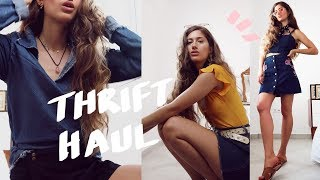 Thrift Haul / Try-On Outfit Challenge ⚡️