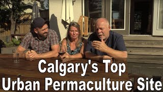 Calgary's Top Urban Permaculture Site