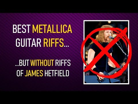 20 Metallica guitar riffs NOT by James Hetfield (+TABS)