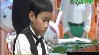 2012年1月4日 フジテレビ「天才の育て方TV」に10歳の天才ジャズピアニス...