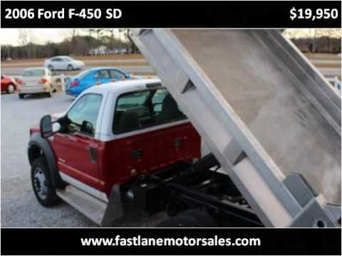2006 Ford F-450 SD Used Cars Athens AL