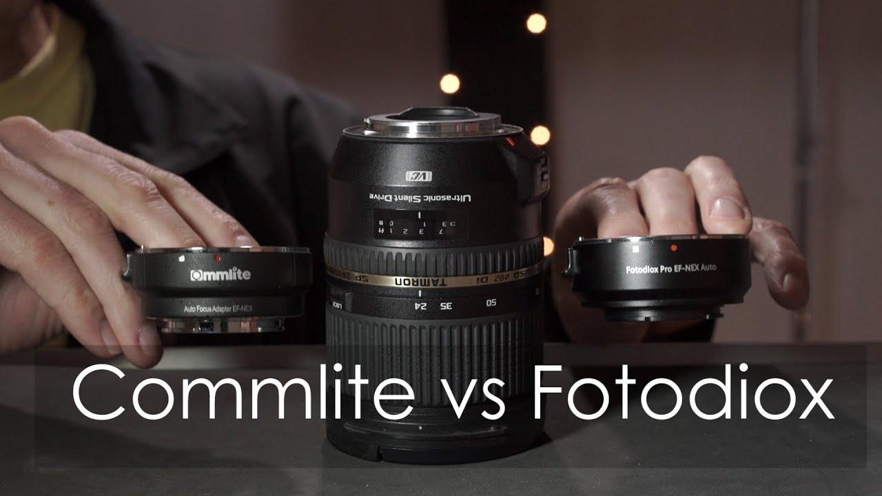 Commlite Vs Fotodiox Canon To Sony Adapter Youtube Procore Mount Ef Lens Nex Camera Iv Auto Focus