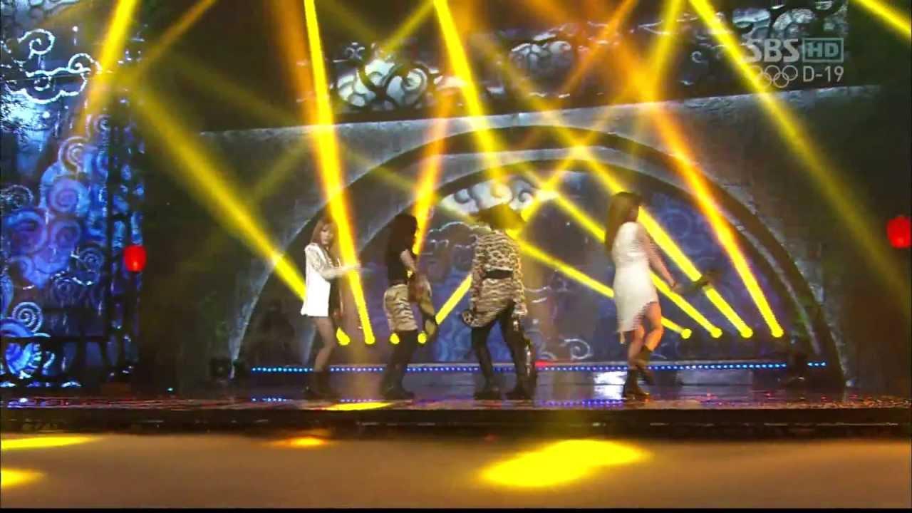 [HD] [20120708] 2NE1 - Intro + I LOVE YOU (SBS Inkigayo)
