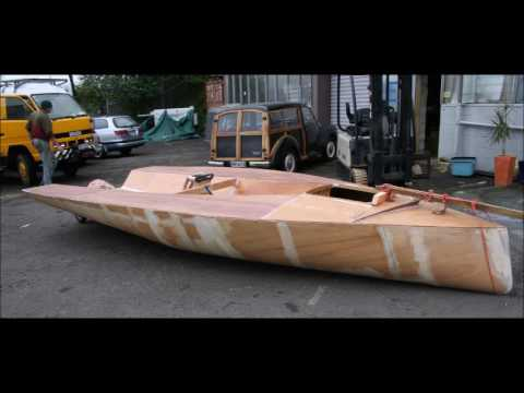 Stitch And Glue Boat Plans For Free Making A Small Wooden Boat - YouTube
