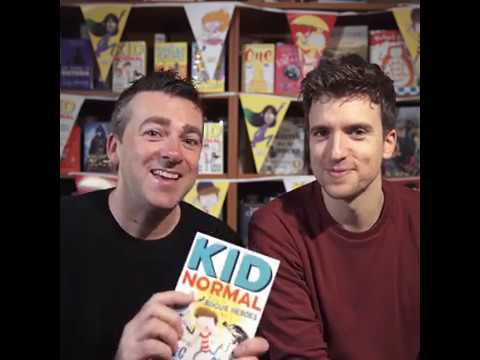 Win a copy of Kid Normal and the Rogue Heroes, signed by Greg James and Chris Smith