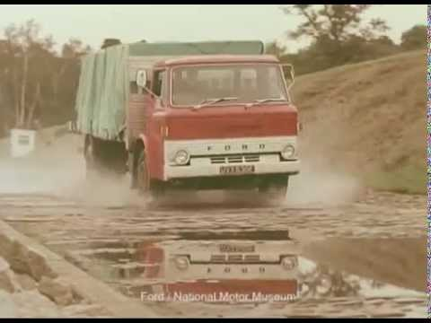 Ford Commercial Vehicle Range - 1968