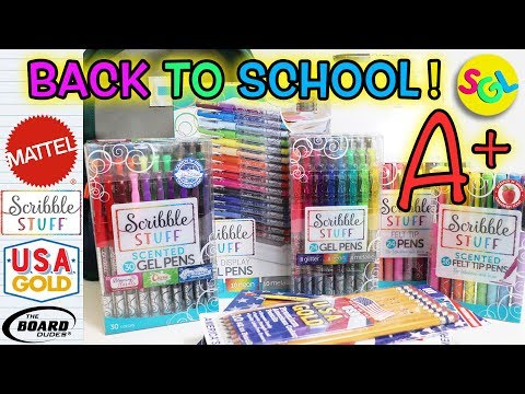 back-to-school-🚍-new-school-supplies:-pens-+-more-|-scribble-stuff,-usa-gold,-the-board-dudes