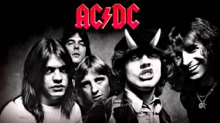 AC DC Big gun guitar BACKING TRACK