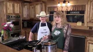 Schaeffer Venison Stew Video