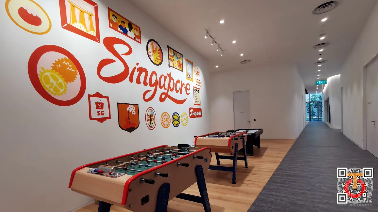 Shopee Regional Headquarters Tour in Singapore