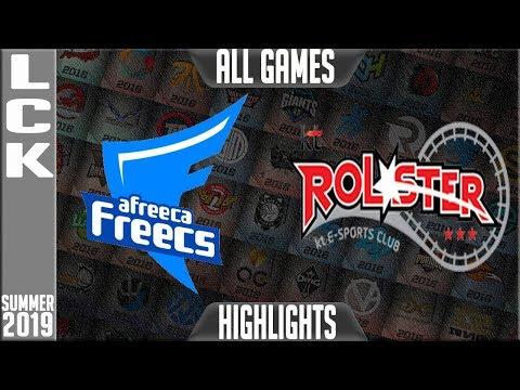 AF vs KT Highlights ALL GAMES | LCK Summer 2019 Week 6 Day 2 | Afreeca Freecs vs KT Rolster