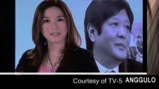 Sen. Bongbong Marcos - Courtesy of TV 5 - Anggulo Part III (14 June 2012)