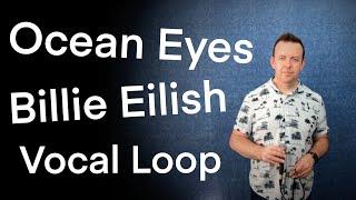 Ocean Eyes - Vocal Loop - Billie Eilish Cover - Headrush Looperboard