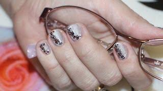 Дизайн на коротких ногтях 1 часть. Design and short nails 1 part.