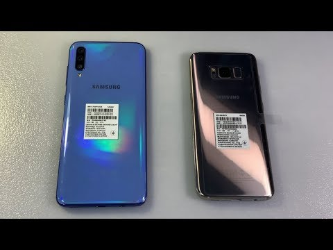 Samsung Galaxy A70 Vs Samsung Galaxy S8