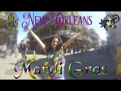 VLOG: New Orleans MARDI GRAS 2017