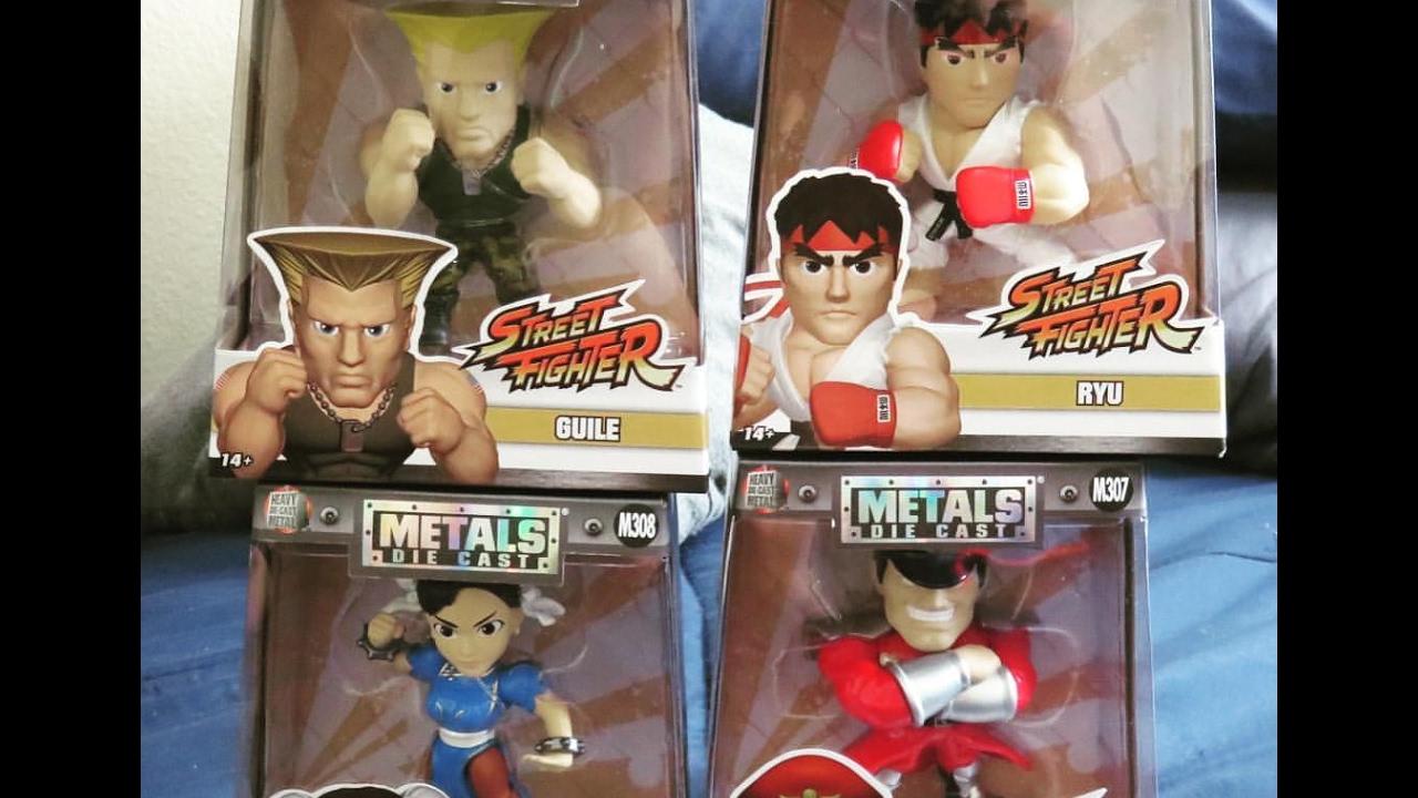 Toy Hunting Vlog Jada Toys Metal Die Cast Street Fighter Haul
