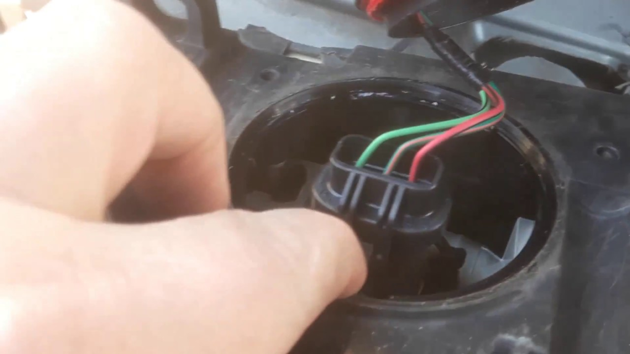 how to remove a ford taurus headlamp assembly and change a bulb 2002 ford taurus headlight wiring diagram ford taurus headlamp wiring [ 1280 x 720 Pixel ]