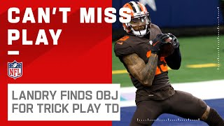 TRICK PLAY ALERT: Landry Lobs to OBJ for Browns TD!
