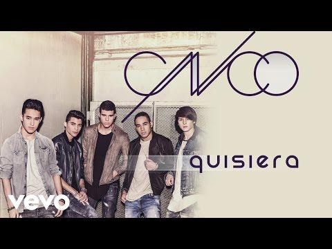 CNCO - Quisiera (Cover Audio)