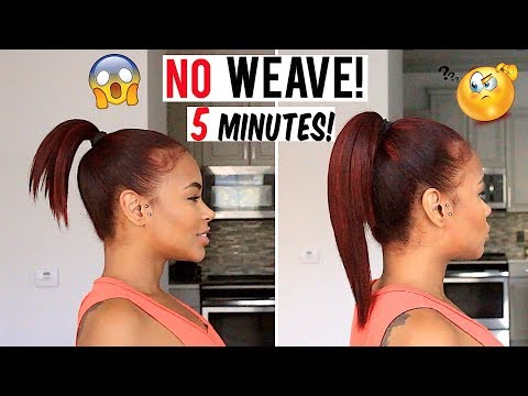 how-to-get-long-hair-in-5-min-without-weave!-hair-hacks