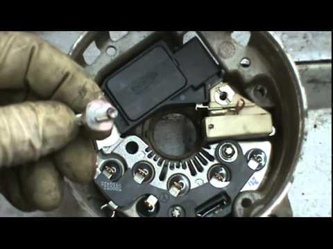 how to rebuild a cs130 alternator youtube rh youtube com 4G Alternator GM CS130 Alternator Wiring