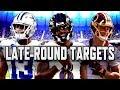 Fantasy Football 2019: Late round targets | NBC Sports