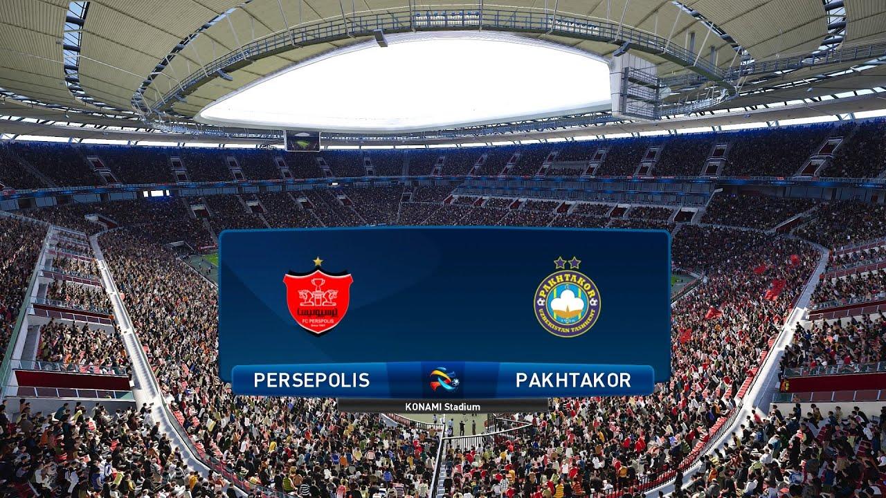 Pes 2021 Persepolis Vs Pakhtakor Asia Afc Champions League 30 09 2020 1080p 60fps Youtube
