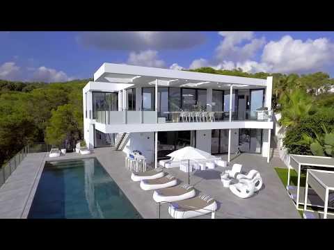 Ibiza: Modern villa in Vista Alegre / Es Cubells with excellent sea views - Luxury Villas Ibiza