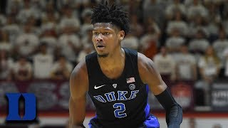 Cam Reddish: ACC Basketball's Top Performances