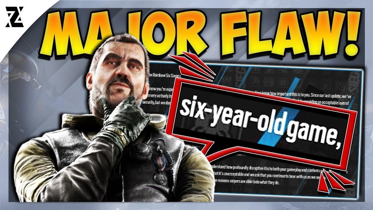 Y6S3! Ubisoft Admits a MAJOR FLAW! Huge News! - Rainbow Six Siege