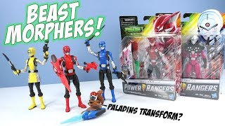 Power Rangers Beast Morphers Toys Action Figures 2019 Hasbro