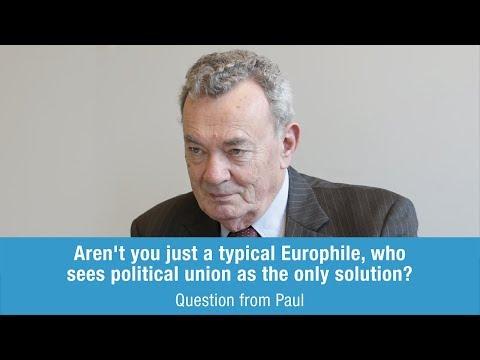 Giles Merritt answers Paul on political union
