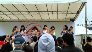 SOUTHERN CROSS (Kagoshima Idol Group) sings OHARA-BUSHI (local traditional songs)