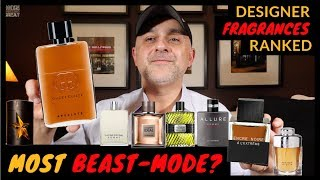 25 Designer Fragrances Ranked From Least Beast-Mode to Most Beast-Mode 🏋🏼♂️🏋🏼♂️🏋🏼♂️
