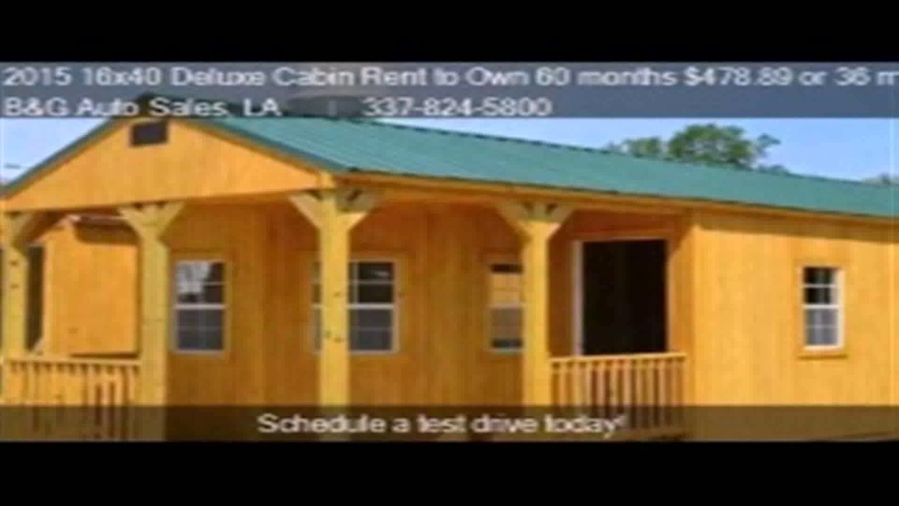 Floor plans 16x40 youtube for 16x40 cabin plans