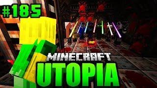 WAS... haben SIE DA VOR?! - Minecraft Utopia #185 [Deutsch/HD]
